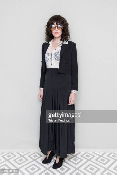 Isabelle Adjani attends at Albane by Costes JW Marriott Rooftop on May 9 2018 in Cannes France