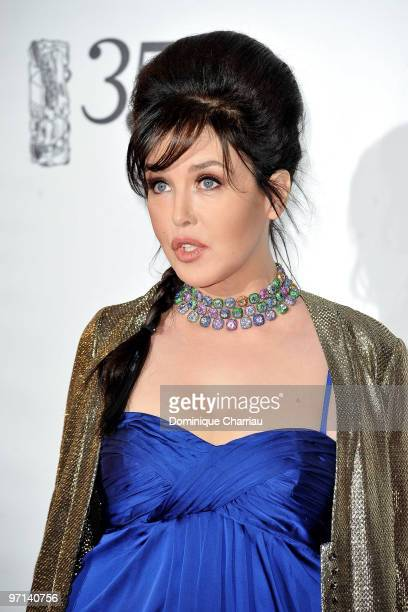 Isabelle Adjani attends the 35th Cesar Film Awards at Theatre du Chatelet on February 27 2010 in Paris France