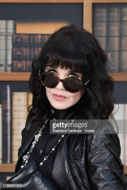 Isabelle Adjani attends the Chanel photocall as part of Paris Fashion Week Haute Couture Fall Winter 2020 at Grand Palais on July 02 2019 in Paris...