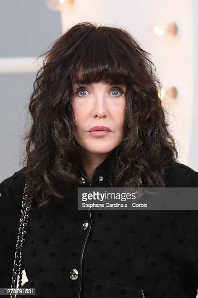 Isabelle Adjani attends the Chanel Womenswear Spring/Summer 2021 show as part of Paris Fashion Week on October 06, 2020 in Paris, France.