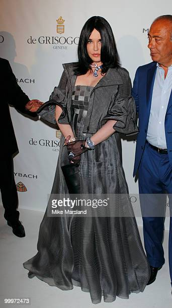 Isabelle Adjani attends the de Grisogono party at the Hotel Du Cap on May 18, 2010 in Cap D'Antibes, France. On May 18, 2010 in Cannes, France.