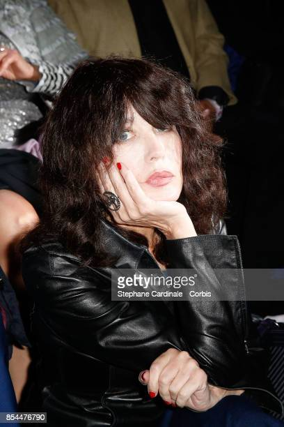 Isabelle Adjani attends the Etam show as part of the Paris Fashion Week Womenswear Spring/Summer 2018 at on September 26 2017 in Paris France