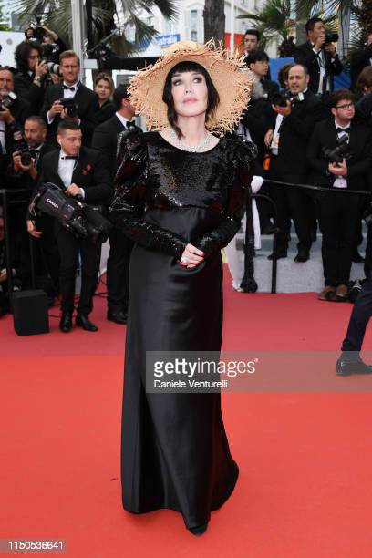 Isabelle Adjani attends the screening of La Belle Epoque during the 72nd annual Cannes Film Festival on May 20 2019 in Cannes France