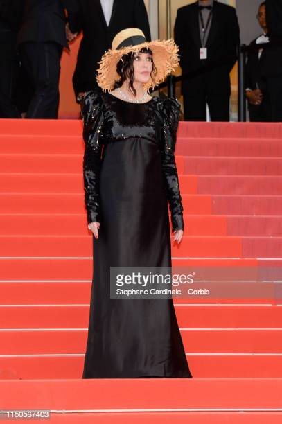 """Isabelle Adjani attends the screening of """"Le Belle Epoque"""" during the 72nd annual Cannes Film Festival on May 20, 2019 in Cannes, France."""