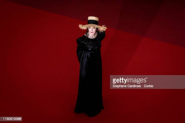 Isabelle Adjani attends the screening of Le Belle Epoque during the 72nd annual Cannes Film Festival on May 20 2019 in Cannes France