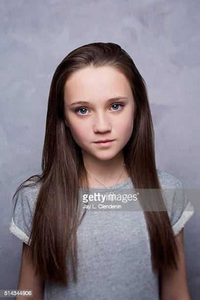 Isabelle Allen from the film 'Let's Be Evil' pose for a portrait at the 2016 Sundance Film Festival on January 22 2016 in Park City Utah CREDIT MUST...