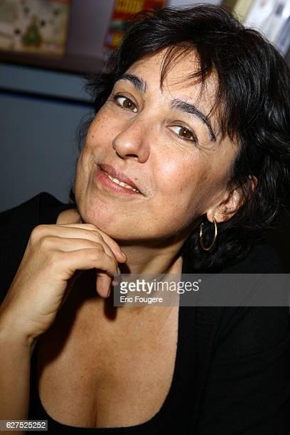 Isabelle Alonso at the 2007 'Salon du Livre'