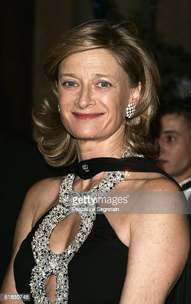 Isabelle Barnier attends the Child Abuse Foundation Gala at the Castle of Versailles on December 6 2004 in Versailles France