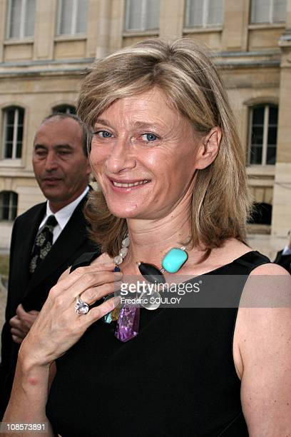 Isabelle Barnier in Paris France on June 20th 2005