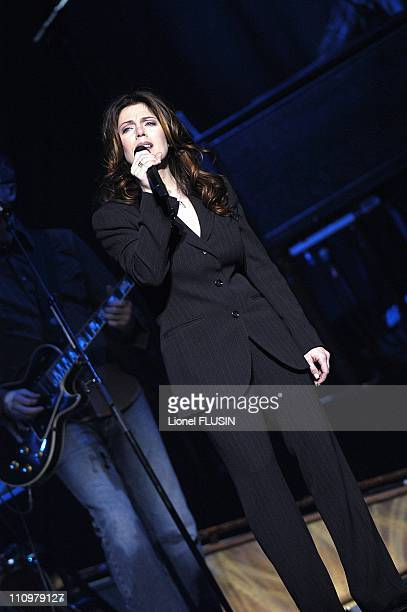 Isabelle Boulay live at the Arena in Geneva Switzerland on November 7th 2004