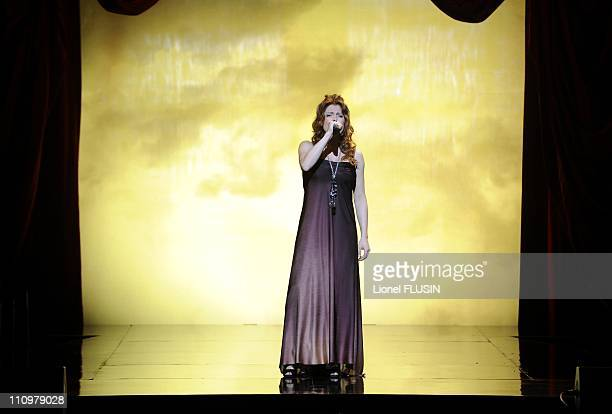 Isabelle Boulay performs at the Arena in Geneva Switzerland on May 18th 2008