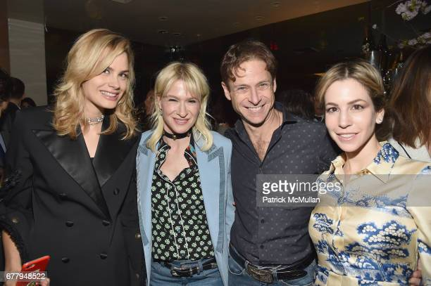Isabelle Bscher Julie Macklowe William Macklowe and Jill Bikoff attend Galerie Gmurzynska TEFAF NY dinner in honor of Christo honoring Alexandre de...