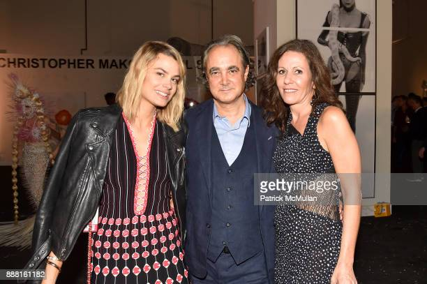 Isabelle Bscher Mathias Rastorfer and Sara Albrecht attend the Unveiling of White Square by Richard Meier Partners at Citigroup Center on December 7...