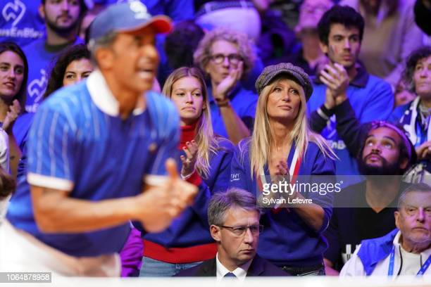 Isabelle Camus attends Day 2 of the Davis Cup Final 2018 between France and Croatia at Stade Pierre Mauroy on November 24 2018 in Lille France