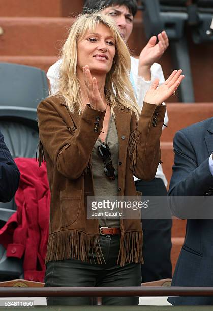 Isabelle Camus attends day 5 of the 2016 French Open held at RolandGarros stadium on May 26 2016 in Paris France