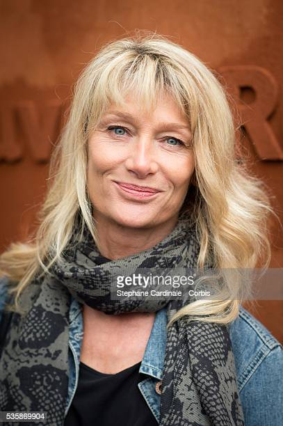 Isabelle Camus attends day nine of the 2016 French Open at Roland Garros on May 30 2016 in Paris France