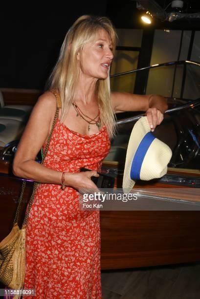 Isabelle Camus attends Petanque Gastronomique 2019 hosted by Daniel Lauclair at Paris Yacht Marina on June 27 2019 in Paris France