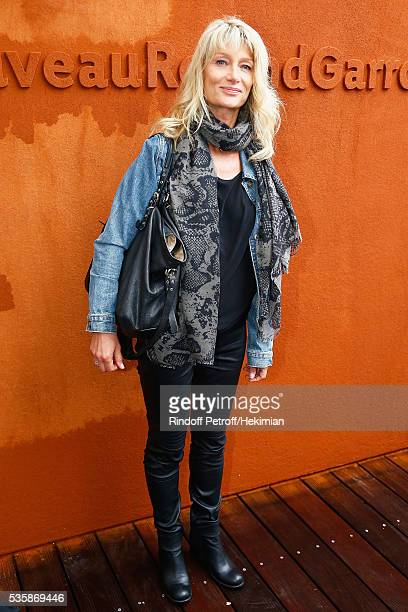 Isabelle Camus attends the French Tennis Open Day Nine at Roland Garros on May 30 2016 in Paris France