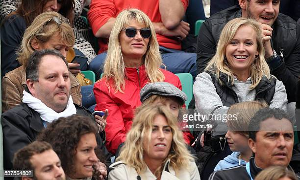 Isabelle Camus wife of Yannick Noah attends day 11 of the 2016 French Open held at RolandGarros stadium on June 1 2016 in Paris France