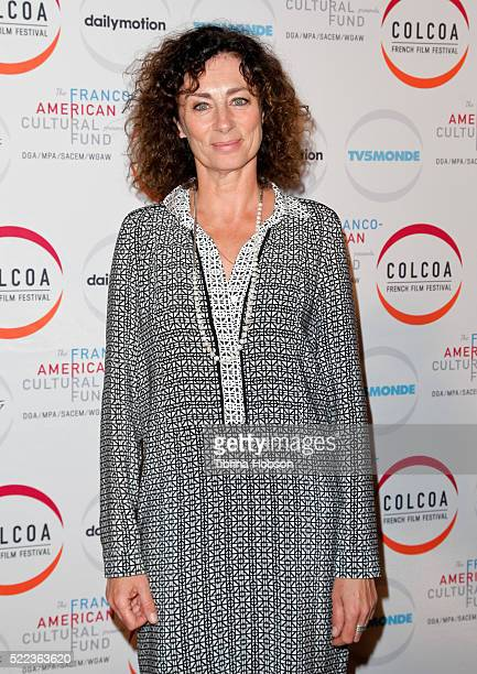 Isabelle Candelier attends opening night of the 20th annual COLCOA French Film Festival at Directors Guild of America on April 18 2016 in Los Angeles...