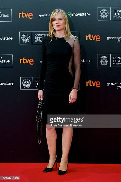 Isabelle Carre attends '21 Nuits Avec Pattie' premiere during 63rd San Sebastian Film Festival on September 20 2015 in San Sebastian Spain