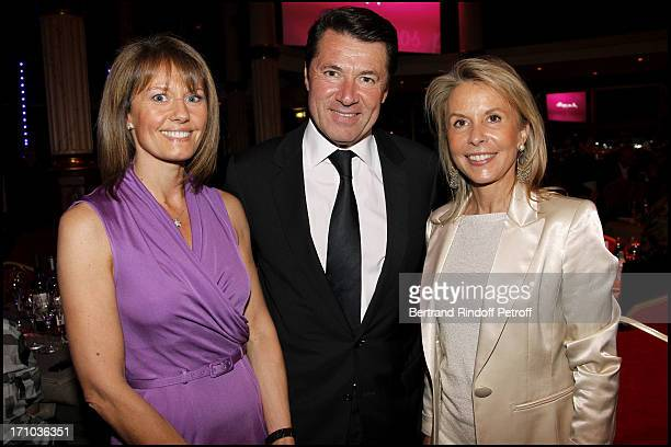 "Isabelle Chalencon, Christian Estrosi, Carole Bellemare at ""Des Femmes En Or"" 18th Awards Ceremony 2010 At Salle Wagram ."