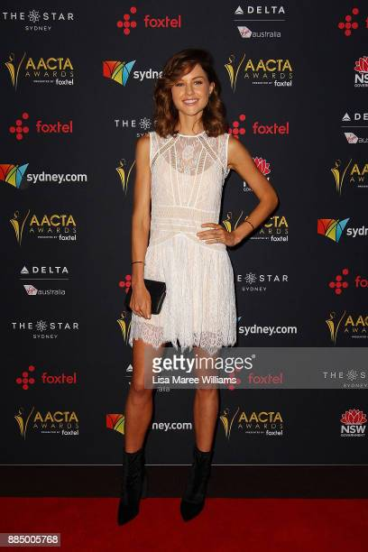 Isabelle Cornish attends the 7th AACTA Awards Presented by Foxtel | Industry Luncheon at The Star on December 4 2017 in Sydney Australia