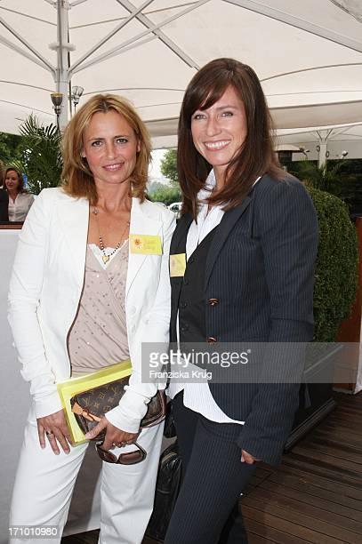 Isabelle Delling Und Kerstin Beckmann Beim Dkms Ladies Lunch Am 140607 In München