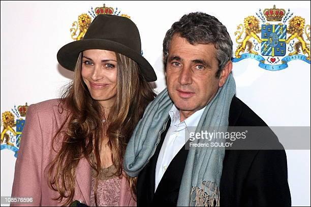 Isabelle et Michel Boujenah in Paris France on November 14th 2005