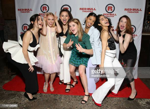 Isabelle Fuhrman AnnaSophia Robb Lily Santiago Sophie KellyHedrick Ayana Workman Sharlene Cruz and Ismenia Mendes attends the Opening Night Party for...