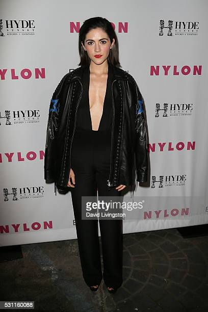 Isabelle Fuhrman arrives at NYLON and BCBGeneration's Annual Young Hollywood May Issue Event at HYDE Sunset Kitchen Cocktails on May 12 2016 in West...