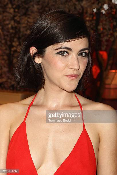 Isabelle Fuhrman attends the alice olivia By Stacey Bendet And Neiman Marcus Present SeeNowBuyNow Runway Show at NeueHouse Los Angeles on April 13...