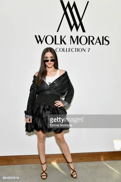 Isabelle Fuhrman attends the Wolk Morais Collection 7 Fashion Show at The Jeremy Hotel on June 26 2018 in West Hollywood California