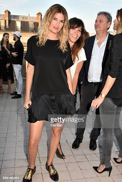 Isabelle Funaro and Hortense d'Esteve attend Zadig Voltaire New Perfume Launch Launch Party at 51 Avenue Iena on June 9 2016 in Paris France Ê