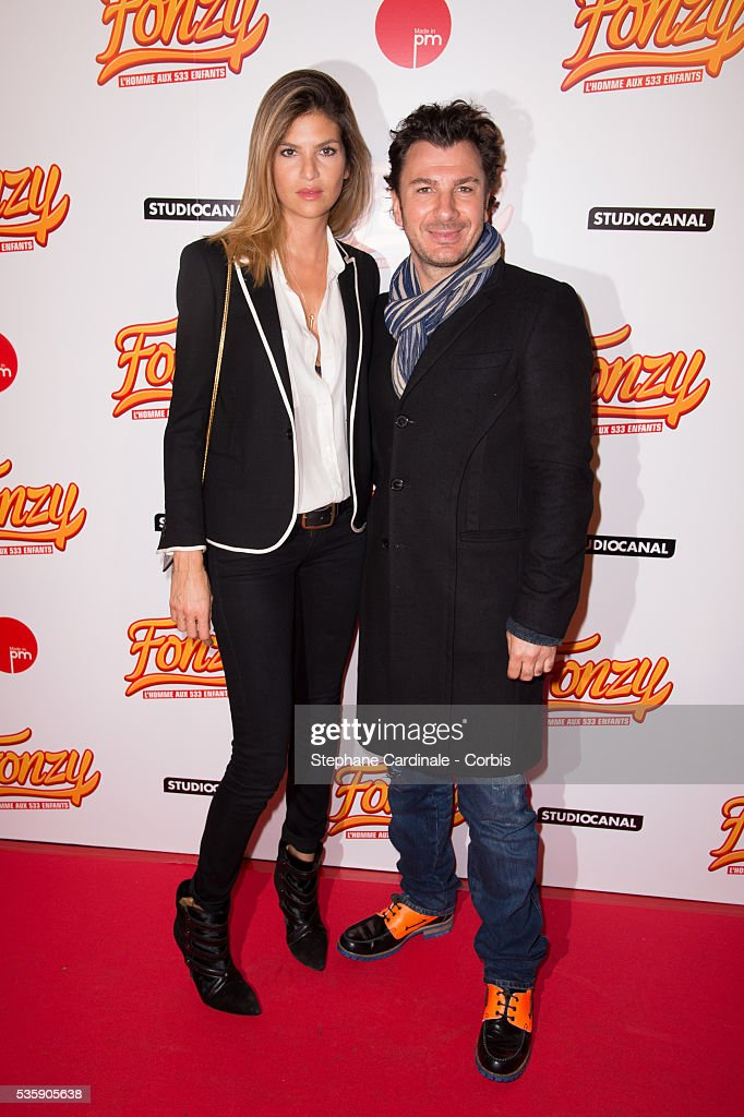 Isabelle Funaro and Michael Youn attend the 'Fonzy' Paris Premiere at Cinema Gaumont Opera, in Paris.