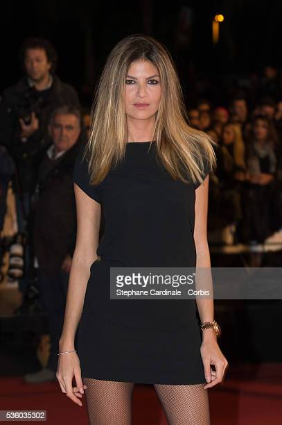 Isabelle Funaro attends the '16th NRJ Music Awards 2014' ceremony at Palais des Festivals on December 13 2014 in Cannes France
