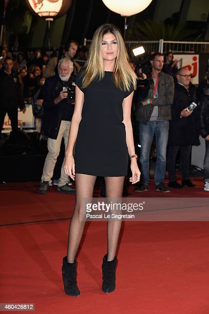 Isabelle Funaro attends the NRJ Music Awards at Palais des Festivals on December 13 2014 in Cannes France