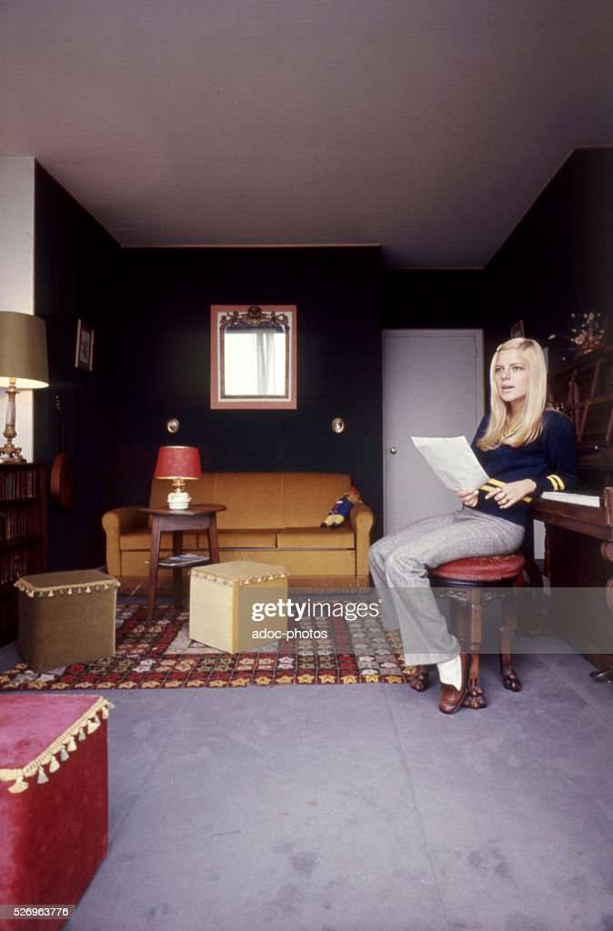 Isabelle Genevieve Marie Anne Gall (1947-), called France Gall : News Photo