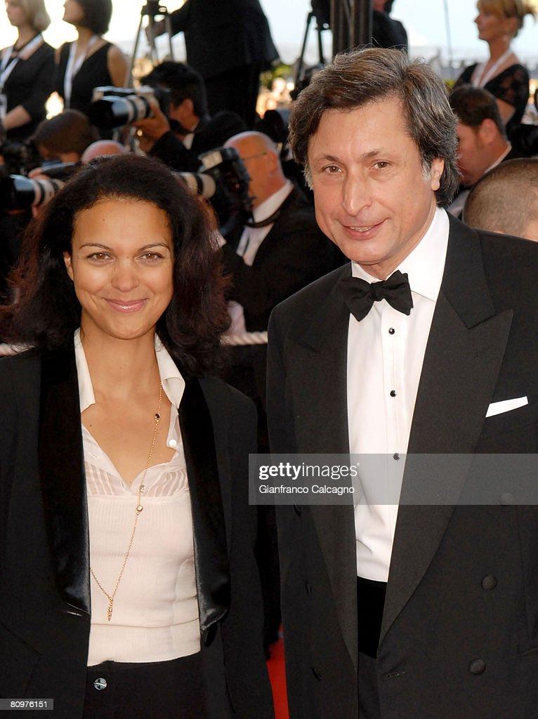 Isabelle Giordano and Patrick de Carolis