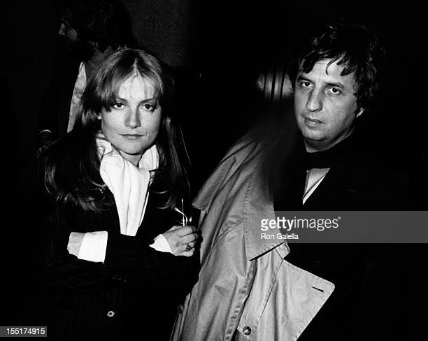Isabelle Huppert and director Michael Cimino attend the premiere of Heaven's Gate on November 18 1980 at Cinema I in New York City