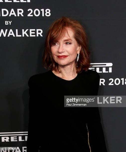Isabelle Huppert attend Pirelli Calendar 2018 Launch Gala at The Manhattan Center on November 10 2017 in New York City