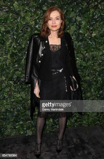 Isabelle Huppert attends a pre BAFTA party hosted by Charles Finch and Chanel at Annabel's on February 11 2017 in London England