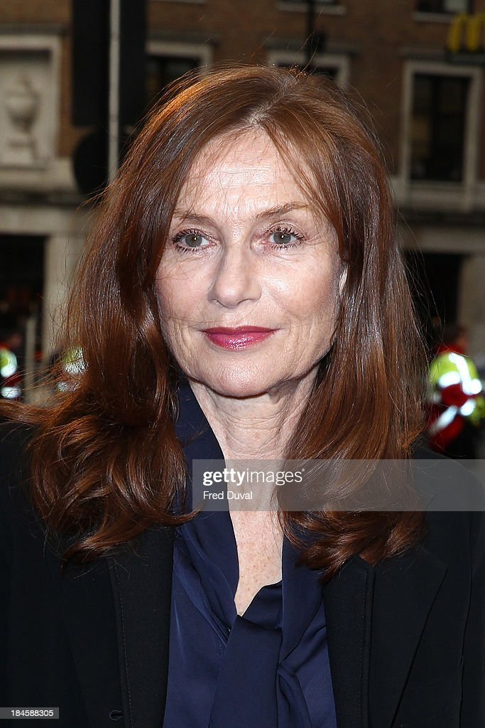 Isabelle Huppert attends a screening of 'Abuse Of Weakness' during the 57th BFI London Film Festival at Odeon West End on October 14, 2013 in London, England.