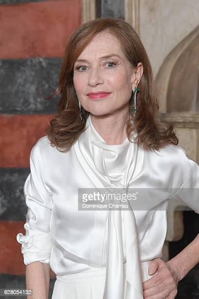 Isabelle Huppert attends Dior Hosts Dinner At 16th Marrakech International Film Festival on December 4 2016 in Marrakech Morocco