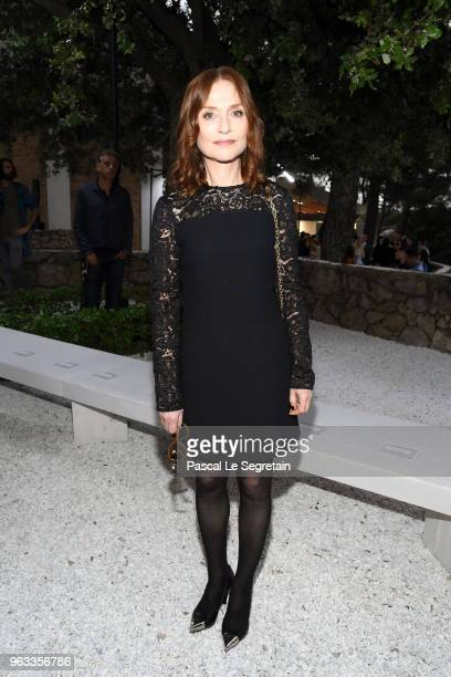 Isabelle Huppert attends Louis Vuitton 2019 Cruise Collection at Fondation Maeght on May 28 2018 in SaintPaulDeVence France