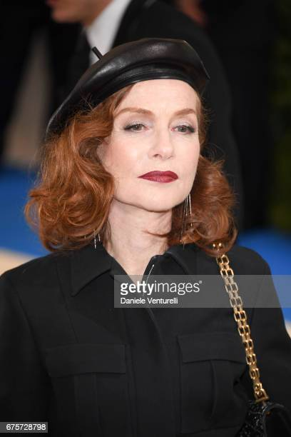 Isabelle Huppert attends 'Rei Kawakubo/Comme des Garcons Art Of The InBetween' Costume Institute Gala Arrivals at Metropolitan Museum of Art on May 1...