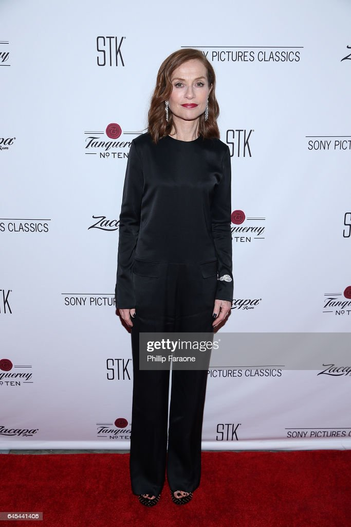 Isabelle Huppert attends Sony Pictures Classics' Annual Pre-Academy Awards Dinner Party at STK on February 25, 2017 in Los Angeles, California.