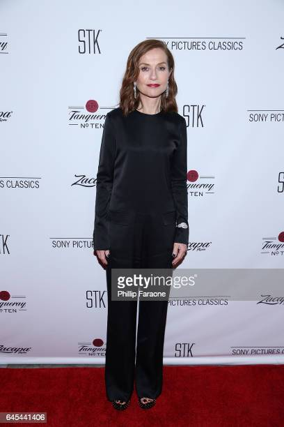 Isabelle Huppert attends Sony Pictures Classics' Annual PreAcademy Awards Dinner Party at STK on February 25 2017 in Los Angeles California