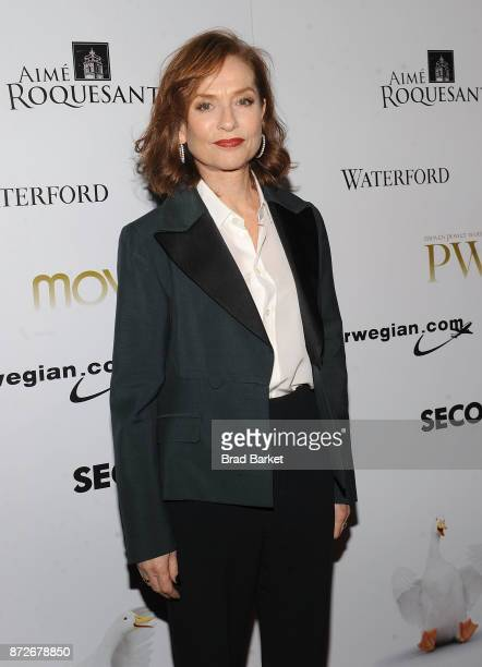 Isabelle Huppert attends the 2017 Moves Power Women Awards Gala at Second Floor on November 10 2017 in New York City