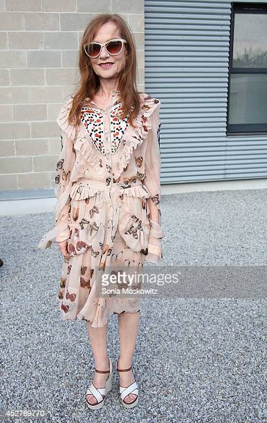 Isabelle Huppert attends the 21st Annual Watermill Summer Benefit at The Watermill Center on July 26 2014 in Water Mill New York